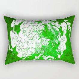 fire luffy Rectangular Pillow