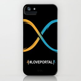Love Portal iPhone Case