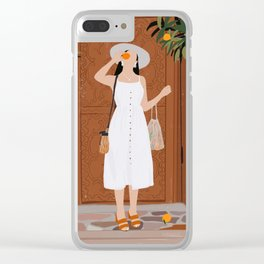 Colours of Marrakech Clear iPhone Case