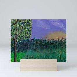 Backyard Sunrise Mini Art Print
