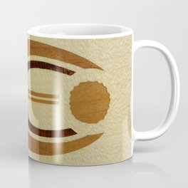 Elegant harmony mindfulness star soft motif bajor badge Coffee Mug
