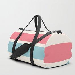 2 Stripes Pink Mint Duffle Bag