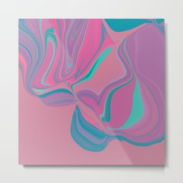 Candy marble chewing gum fantasy Metal Print