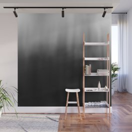 charcoal ombre Wall Mural