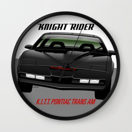 Knight Rider 1982 Pontiac Trans Am Wall Clock