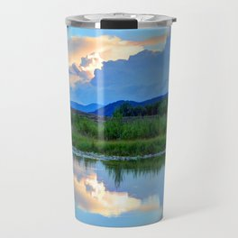 Snake River Reflection - Grand Teton National Park - Wyoming Travel Mug
