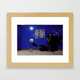 JazzBlock Framed Art Print