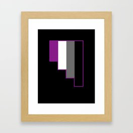 Asexual Framed Art Print