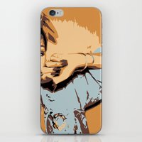 rihanna iPhone & iPod Skins featuring Rihanna  by GOLDY