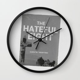 Hateful Eight | Quentin Tarantino Wall Clock