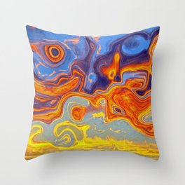 STORM CENTRES Throw Pillow