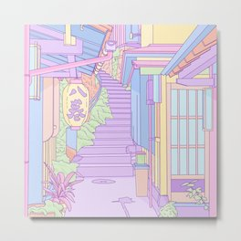 Lost in the Alleys of Japan Metal Print