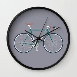 My Bike Dark Green Wall Clock