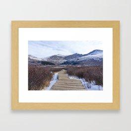 Bierstadt Trail Framed Art Print
