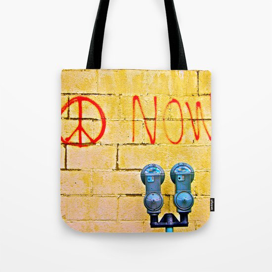 Peace Now! Tote Bag
