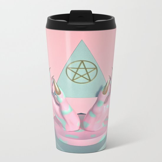 Idle Hands Metal Travel Mug