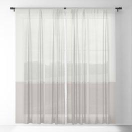 BONE x STONE II Sheer Curtain