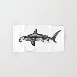Sphyrna mokarran Hand & Bath Towel