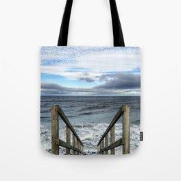 A Way to the Sea Tote Bag