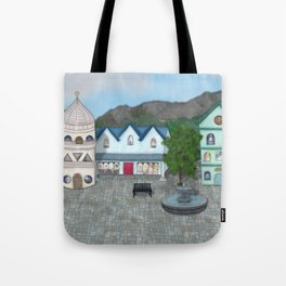 Figures from a Dresden Past - Imagined Tote Bag