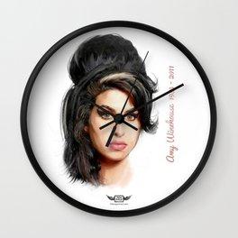 Winehouse, Amy Wall Clock