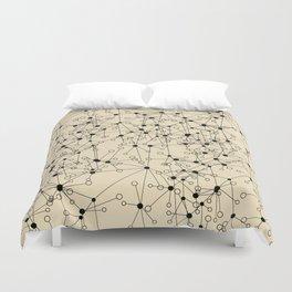 Stars sky map Duvet Cover