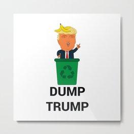 Dump Trump Metal Print