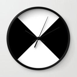 Black x White Wall Clock
