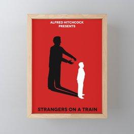 Strangers on a Train Framed Mini Art Print