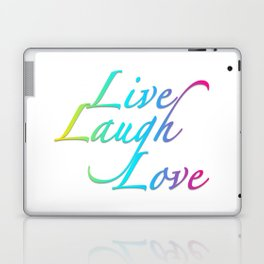 Live, Laugh, Love Laptop & iPad Skin