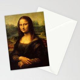 Monalisa, Leonardo Da Vinci, Mona Lisa, original Stationery Cards