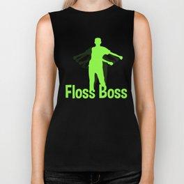 Floss Like a Boss Gift for School Kids, Youth for School, Dance or Party Biker Tank