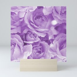 Violet Rose Bouquet For You - Valentine's Day #decor #society6 #homedecor Mini Art Print