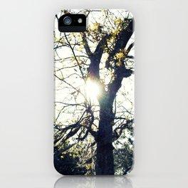 Golden Moss iPhone Case
