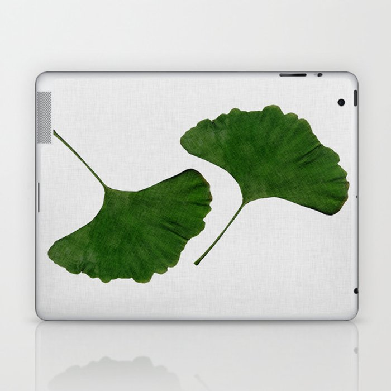 Ginkgo Leaf II Laptop & iPad Skin