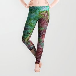 Abstract Forest Leggings