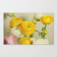 You are my flower Canvas Print