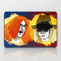 coven iPad Cases featuring Burn the Witch by Brieana