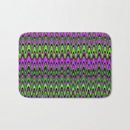 Making Waves Neon Lights Bath Mat