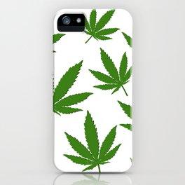 Weed Leaf iPhone Case