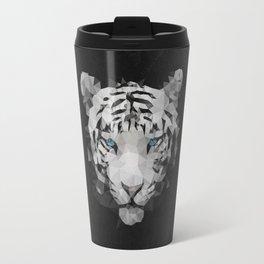 Meduzzle: White Tiger Travel Mug