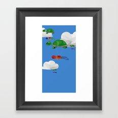 Paraturtle Framed Art Print