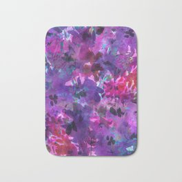 Violet Fields Bath Mat