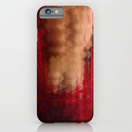 The Red Robe iPhone Case