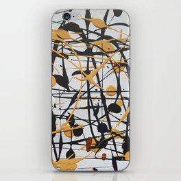 Pollock crème iPhone Skin