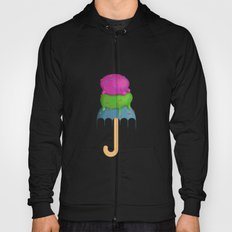 ice cream rain Hoody