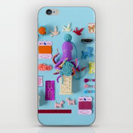 Miniature Collage: Crafting iPhone Skin