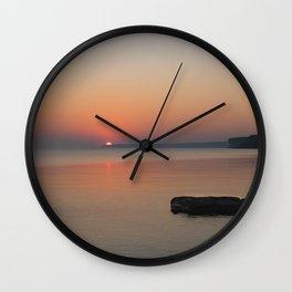 Huron Sunrise 3 Wall Clock