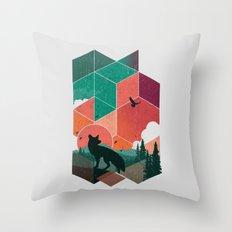 Natural Habitat Throw Pillow