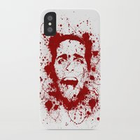 scary iPhone & iPod Cases featuring American Psycho by David